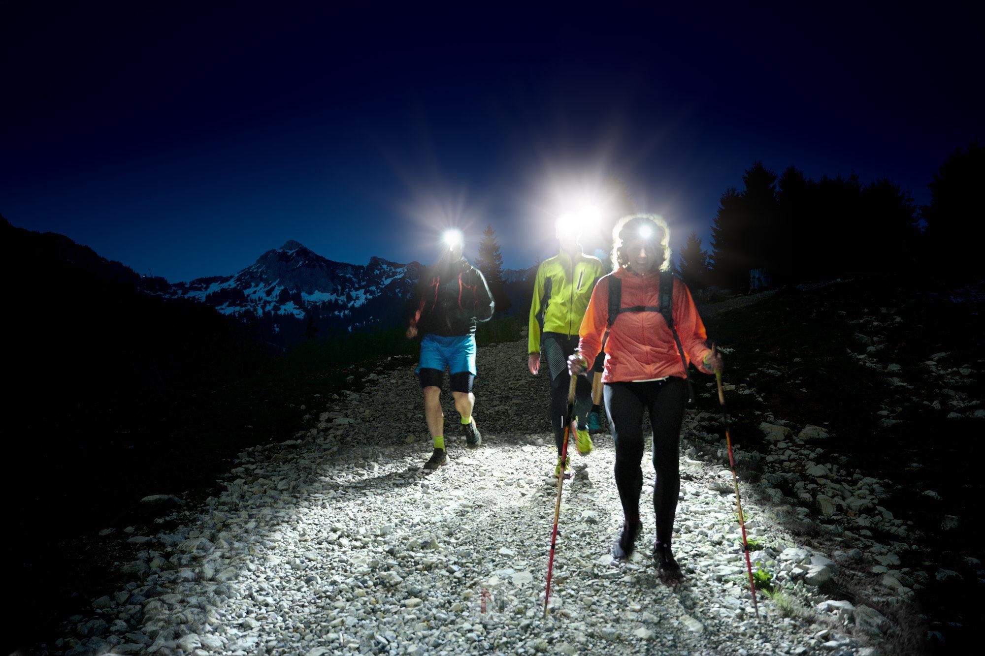Stirnlampenlauf mit Peter Schlickenrieder, Traildays 2019, Tannheimer Tal, Tirol, Österreich